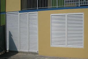 Shutter Wall Fully Functional Exterior Sliding Shutters