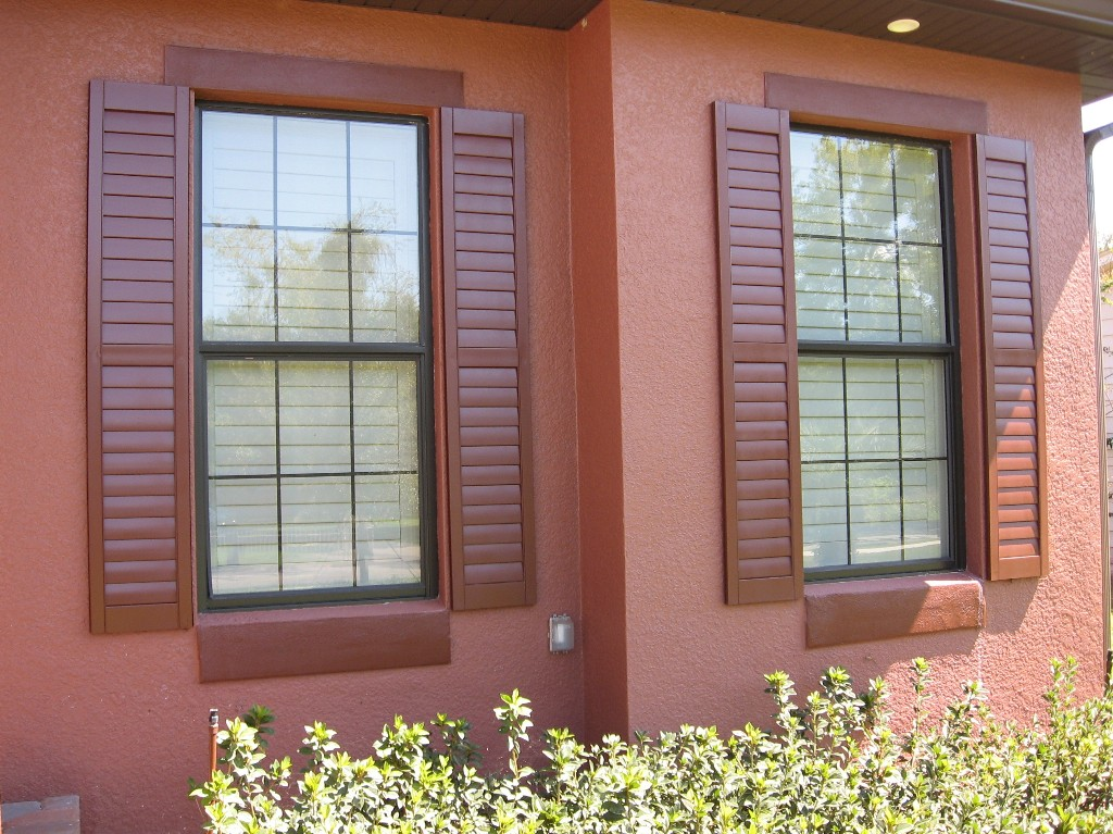 Exterior shutters for Exterior windows
