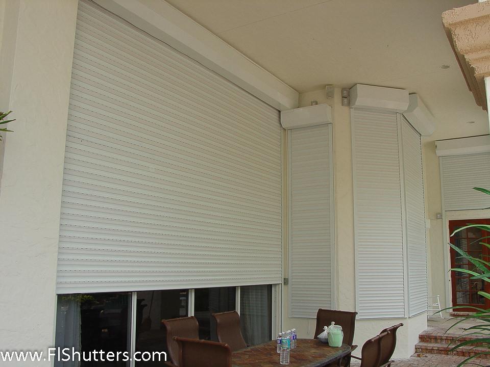 Hurricane Shutters Exterior