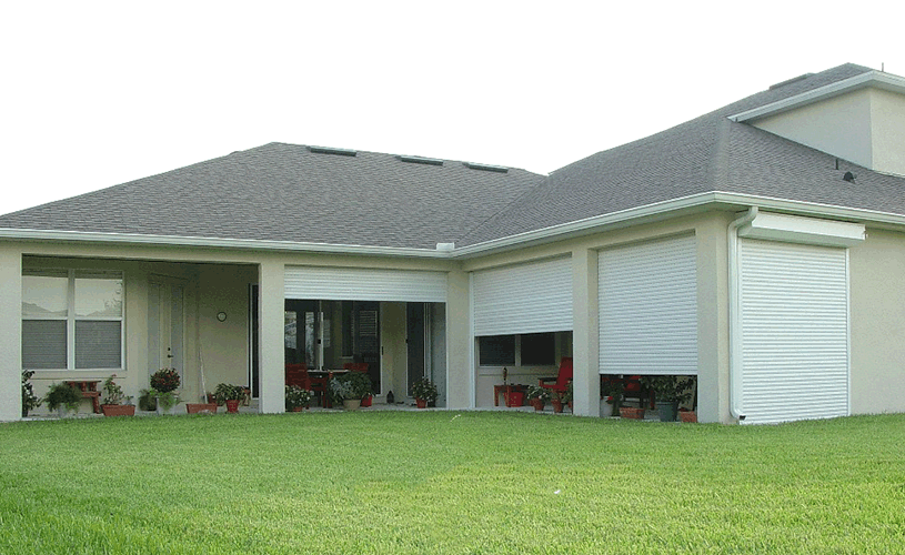 roll down shutter for porch