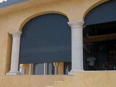 Plantation Shutters Motorized Hurricane Security Shutters