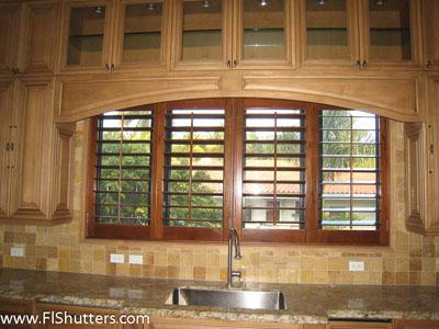 Interior Wood Shutter