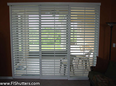 Motorized Sliding Shutters